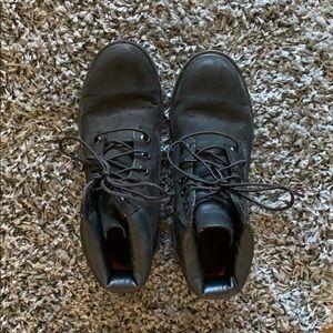 Timberland Black Booties